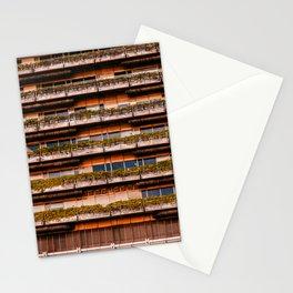 Edificio sostenible Stationery Cards