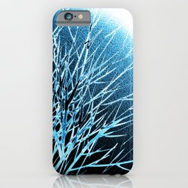THE BLUE MOON iPhone Case