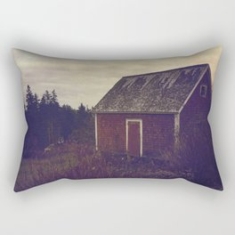 Red Barn Rectangular Pillow