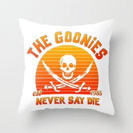 The Goonies Throw Pillow