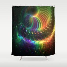 Tasting The Rainbow Shower Curtain