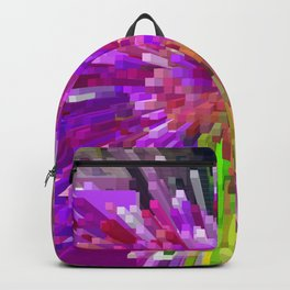 Violet Burst Backpack