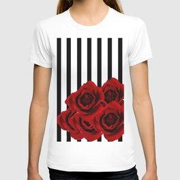 Prohibited roses T-shirt