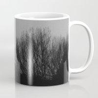 gray Mugs featuring Gray by Guzzi