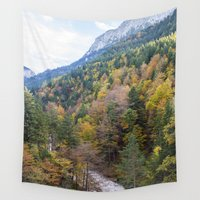 forrest Wall Tapestries featuring Forrest  by Veronika