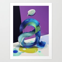 Atypical 1 Art Print