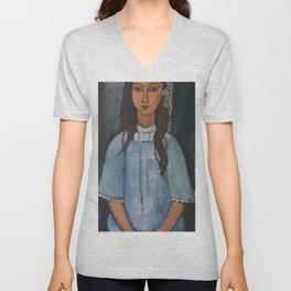 Amedeo Modigliani - Alice Unisex V-Neck