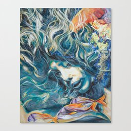Undewater Whispers Canvas Print