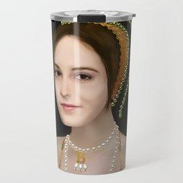 Anne Boleyn digital painting Travel Mug