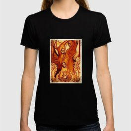 Macbeth Witches - Shakespeare Folio Illustration Art T-shirt