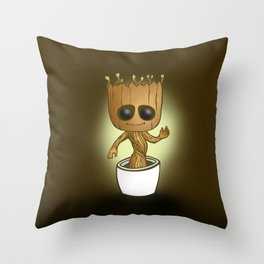 Baby Grooot Throw Pillow