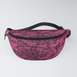 Vintage Lace Pink Yarrow Fanny Pack