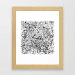 JP Sketch BW Framed Art Print