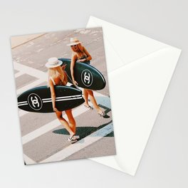 HIT THE BEACH Stationery Cards
