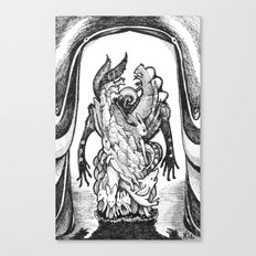 Haunted Clothing- The Small Creatures Canvas Print