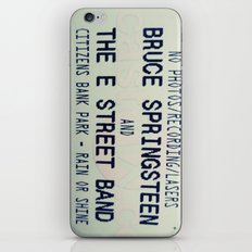 Bruce Springsteen & the E Street Band: Rain or Shine iPhone & iPod Skin
