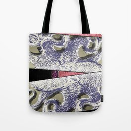 Octopus Abstract Tote Bag