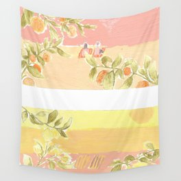 Sunrise Lovers Wall Tapestry