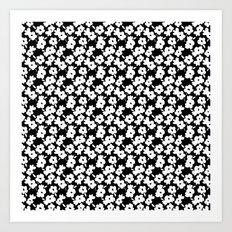 Mod Flower Art Print