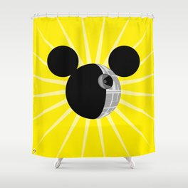 The New Death Star Shower Curtain