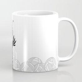 Yarn Love - Black Coffee Mug
