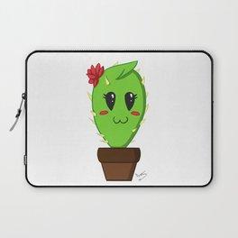 Unfortunate relationship: cute cactus black symbol Laptop Sleeve
