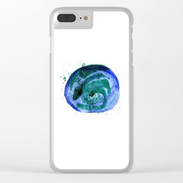 Wash the World Clear iPhone Case