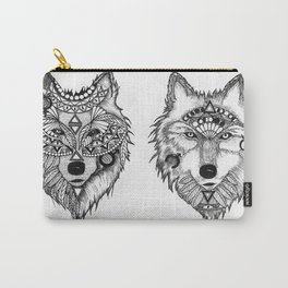Wolf design  Carry-All Pouch