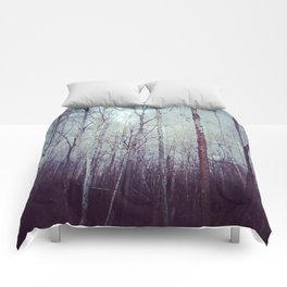 White Birch Woodland Comforters