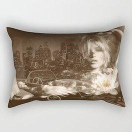Just lay down (kate moss) Rectangular Pillow