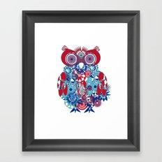 SPIRO OWL Framed Art Print