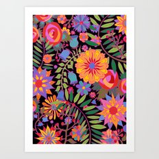 Just Flowers Art Print