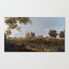 Eton College Chapel by Canaletto Canvas Print