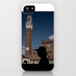 hat silhouette iPhone Case