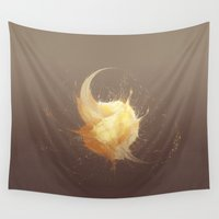 sand Wall Tapestries featuring Sand by Sventine