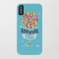 risa rodil iPhone & iPod Cases featuring Adventure is out there by Risa Rodil