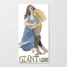 Giant Love Canvas Print