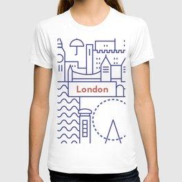 London Illustration T-shirt