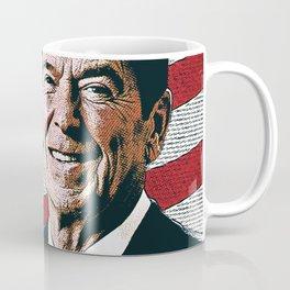 Patriotic President Reagan Coffee Mug