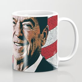 Patriotic President Reagan Coffee Mug