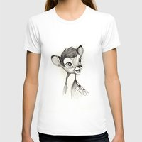 bambi T-shirts featuring Bambi by Herself