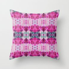 Sierra Pink Throw Pillow
