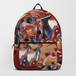 The emotion of rock music Backpack