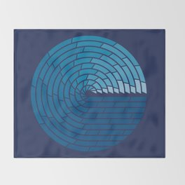 Almighty Ocean Throw Blanket