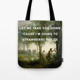 Orpheus Leading Eurydice to Strawberry Fields Tote Bag