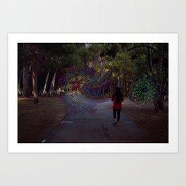 Choosing a Portal Art Print