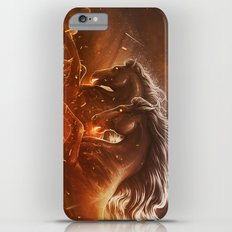 Fire with Horses iPhone 6s Plus Slim Case