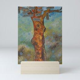 """Totem Tree (i)"" by ICA PAVON Mini Art Print"