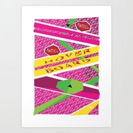 Hover board Art Print