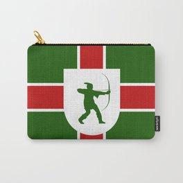 nottinghamshire region flag united kingdom great britain province Carry-All Pouch